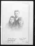 Laura Gertrude Barnes (1880-1979), William Douglas Barnes (1879-1974) and Edith May Barnes (1886-1979), c.1891