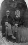 Mr. William Heron Sr. (1792-1884)and his wife Jane Crawford (1796-1877), c.1875