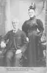 Thomas Emmett and Mrs. T. Emmett (Hannah Strickland), c.1880