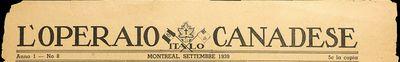 L'Operaio Italo-Canadese