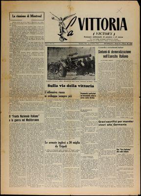 La Vittoria, 23 Jan 1943