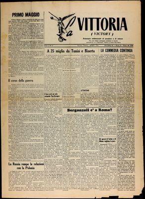 La Vittoria, 1 May 1943