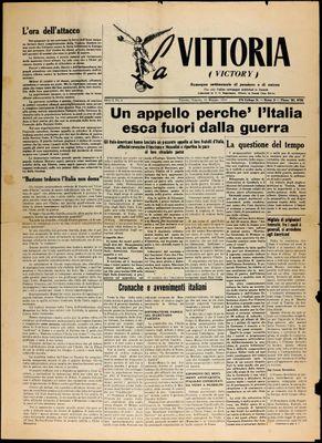 La Vittoria, 15 May 1943