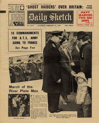 Daily Sketch Saturday, February 24, 1940