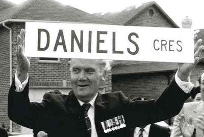 Ajax Veterans Street Dedication: Daniels Crescent