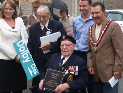 Ajax Veterans Street Dedication: Dolby Crescent
