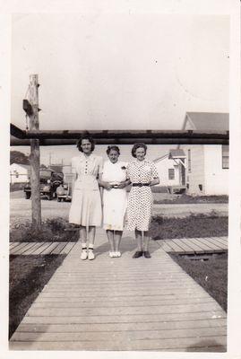 Workers at Defence Industries Limited Ajax, Ontario 1942