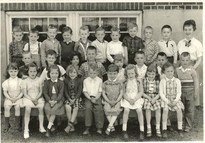 Mrs. Till's (Miss Peattie's) class at Pickering Public School, S.S.#4 West