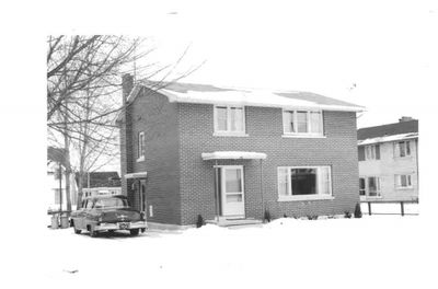 St. Paul's United Church Manse, Ajax 1960