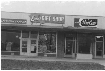 Ena's Gift Shop, Ajax 1959