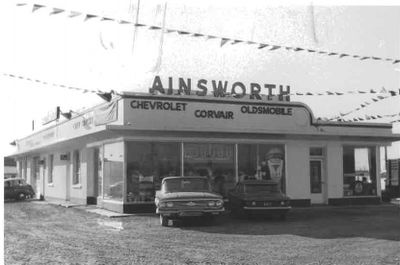 Ainsworth Car Dealership, Ajax 1959
