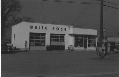 White Rose Garage, Ajax 1959