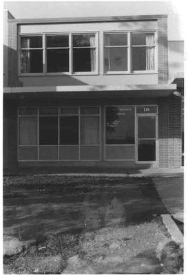 Corner unit at 226 Harwood Avenue, Ajax 1962.