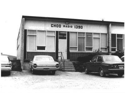 CHOO Radio 1390 building, Ajax c. 1970s