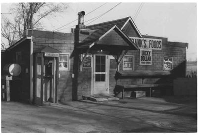 Frank's Food Market, Ajax, 1959.