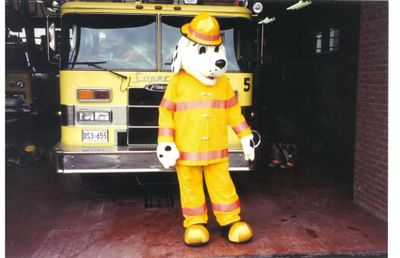 Fire Prevention Week, Ajax 1994.