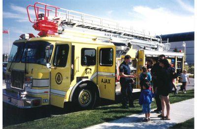 Fire Prevention Week, Ajax 1995