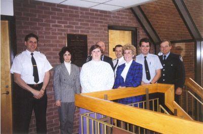 Fire Department Administration Staff, Ajax