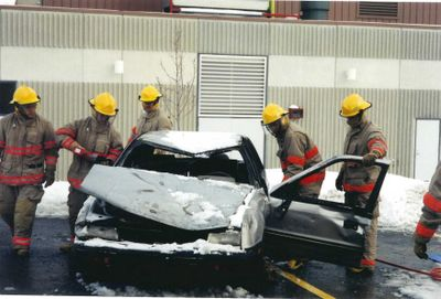 Auto Extraction, Ajax Fire Department