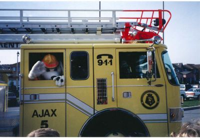 'Fire Chief for a Day', Ajax