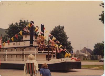 Mississippi Riverboat Float