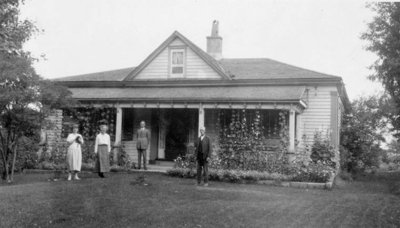 John Patton's Residence, Burford, Ontario, c. 1923-24