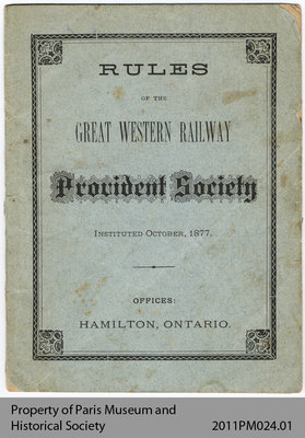 Rules of the Great Western Railway