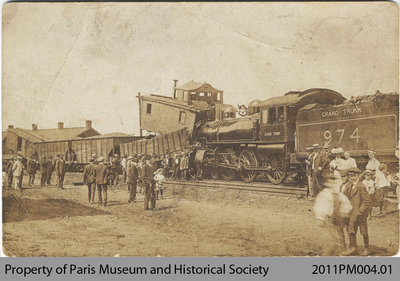 Grand Trunk Train Wreck at the Junction