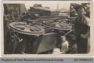 Photo of Train Wreck North of Paris