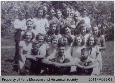 Queen's Ward Class Photo