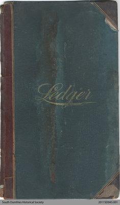 Ledger Book, 1895