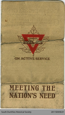 """Pamphlet """"Meeting the Nation's Need"""""""