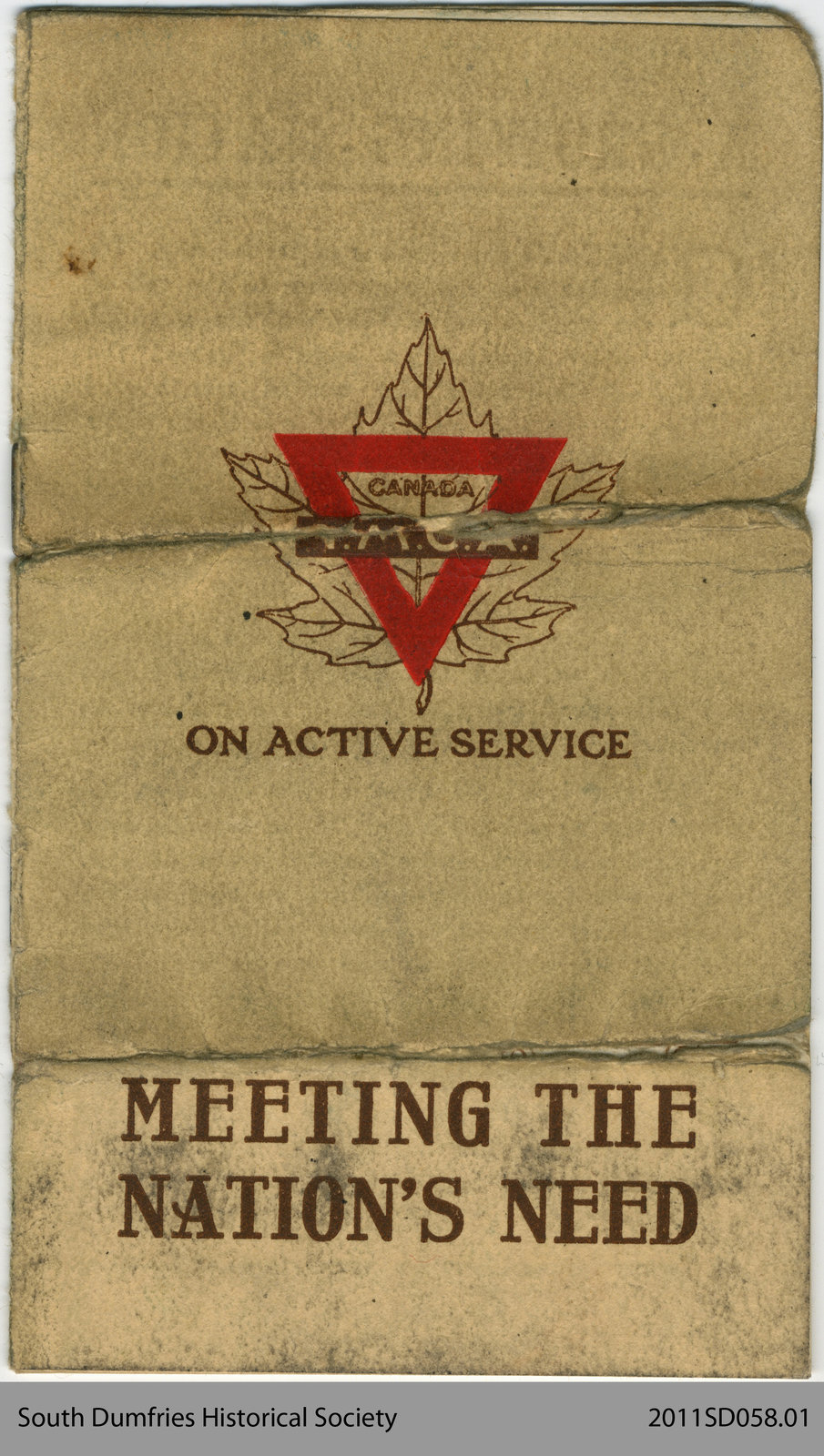 "Pamphlet ""Meeting the Nation's Need"""