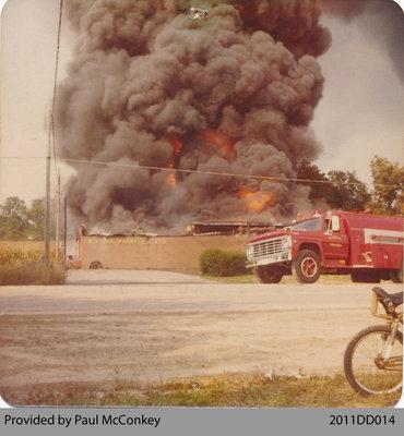 Lee Paint Factory Fire