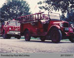 Parade of the 1927 Chevy Fire Truck