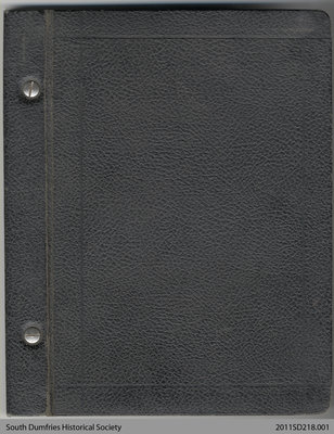 Minute Book of the Brant County Medical Association, 1952-1962