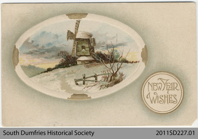New Year Wishes Postcard