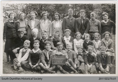 Glen Morris School Class Photo, 1938