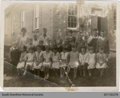 Glen Morris School Class Photo, 1931