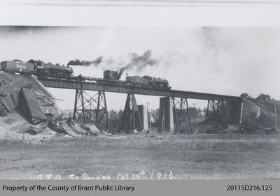 Train Wreck in St. George