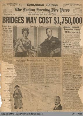 The London Free Press, Centennial Edition