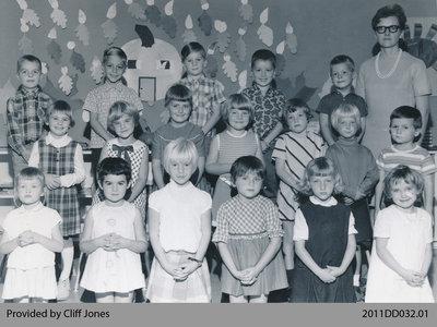 Kindergarten Students From Dumfries Public School