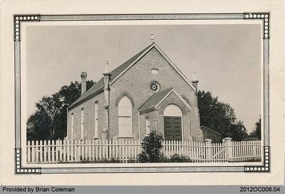 Salt Springs Church in 1940