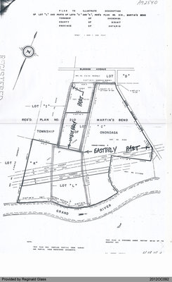 "Plan of Lot ""L"" and Parts of Lots ""C"" and ""K"" of the Township of Onondaga"