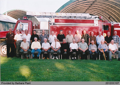 Retired Members of the Onondaga Township Volunteer Fire Department