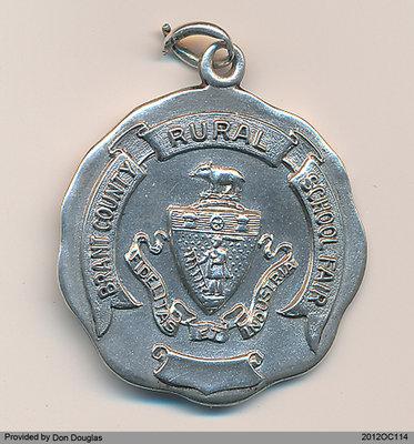 W. Gilbert Douglas School Medallion
