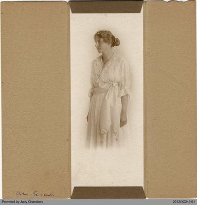 Photograph of Ada Edwards