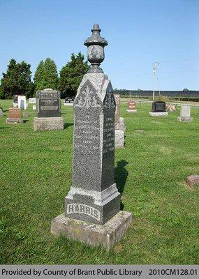 Harris Family Headstone