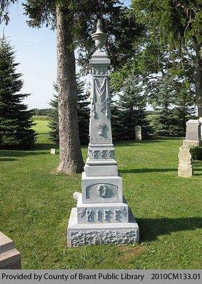 Kiff Family Headstone