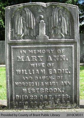 Mary Ann Westbrook Eadie